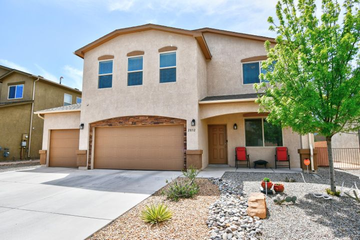 If you are looking for an amazing, energy efficient home with tons of space, you've come to the right place. This Green Built Silver Level home features granite counter tops in kitchen with beautiful offset cabinets, built in microwave and gorgeous glass block backsplash, kitchen island, breakfast nook and 16 inch ceramic tile just for starters. There is also a huge family room downstairs, separate dining room, powder bathroom, spacious three car garage and an office which could be a fifth bedroom if needed. Upstairs you will find a huge master bedroom with master bath featuring double sink vanity, separate, oversized shower, garden tub and walk in closet. 16 x15 bedroom number two upstairs rivals most master bedrooms. Another full bath and two additional bedrooms upstairs. Come and see!