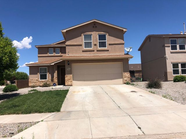 This beautiful 4 bedroom, 3 bath home could be yours today. Just 30 minutes from Bernallio or the heart of Rio Rancho, in a well maintained newly developed neighborhood with easy access to parks and schools as well as the Santa Ana Event center. Some work is needed but at this price this home won't last long!