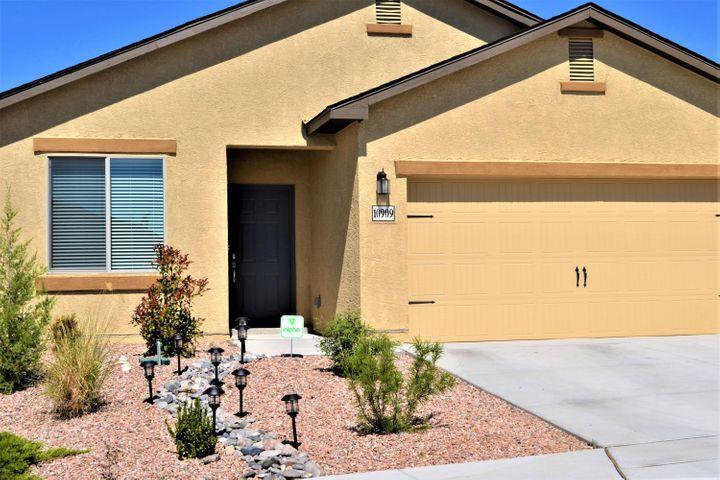 The AJO plan by LGI Homes is a great place to call home in beautiful community of Saltillo.  $15,000 in upgrades in the original build. Electric in garage upgraded; 4 added circuits, each 120V or 220 V.This homes showcases a spacious great room with breakfast nook and chef-ready kitchen with granite and black all new energy efficient appliances.  Gorgeous wood cabinets. Master suite features a walk-in closet and full bath with large tub/shower and tile flooring. Hall bath & bedroom #2 is generous in size. Bedroom #3 serves as perfect office, bedroom or hobby room.  The back covered patio is perfect for entertaining - w/ low maintenance pet friendly turf & surrounding block walls that have been raised for additional privacy. House and carpets professionally cleaned. LED lights in garage.