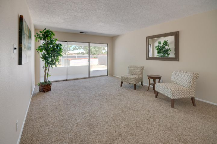 This one will Wow you! Come see this newly remodeled and move-in ready home today! Located in the beautiful Rio Communities, this home has two master bedrooms. The master suite has a walk-in closet, coat closet and many built-in cabinets for plenty of storage. It also has the laundry room conveniently located down the hall just before the master bathroom. The second master also has a full bathroom and walk in closet! Easy access to the fully fenced back yard from all rooms. All have a sliding glass door for access. Covered patio is ready to enjoy early mornings or afternoons.  This is a beautiful home and wont last long. Call to see today!