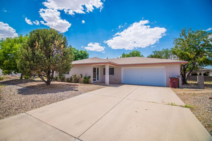 What a charming home located in an established golf course community. This home offers a large floor plan with a spacious entry way, great room, formal dinning, open living room, powder room off of the garage and large laundry room! Outside you will find a large corner lot, covered patio and finished storage with electricity!  Home will have a NEW AC unit as of July 2019! Schedule your showing today!