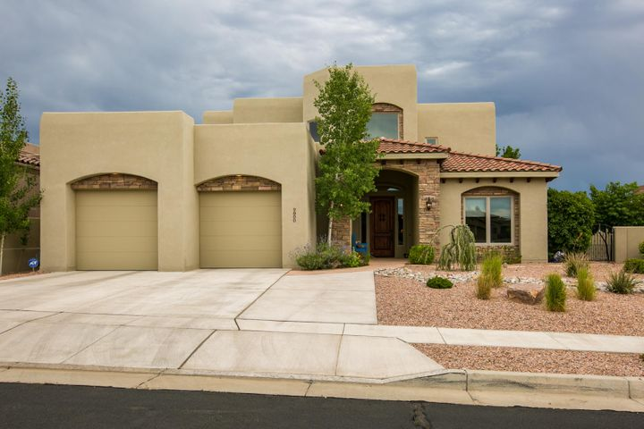 Incredible custom home with mtn views in gated, exclusive community of Ocotillo!  4BDR/4BA/3CG plus office & loft!   Luxury master suite on the main level w/patio access, oversized walk-in closet connected to the laundry room, jetted tub, sep shower, granite counters. Entertainer's kitchen w/beautiful cabinetry, granite, island, bkfst bar & nook & walk-in pantry. Newer carpet!  Office has built in custom cabinetry & French doors. Great room has stacked stone 2-way fireplace to the outdoor living space. Separate guest suite w/full bath, loft and two large secondary bdrs that share a Jack & Jill bath!  Relax & enjoy the outdoor covered balcony with mountain views! Oversized 3CG w/finished wall& flooring perfect for exercise area/wkshp. Close to Trader Joes, foothill trails, parks, shopping!