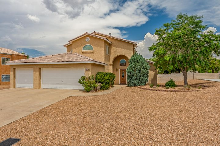 Great 4 bedroom 3 car garage home in desirable High Resort neighborhood with NO HOA and a side yard perfect for storing RV's, boats, etc. Step-down living room features beautiful bamboo wood floors and large windows (updated throughout home) looking out over the backyard. Enjoy cool afternoons and evenings with this East facing backyard with a low maintenance, expansive Synthetic lawn. The outdoor living space is further enhanced with a fabulous play set, a covered patio AND a pergola. The master bedroom upstairs leads out to an enclosed patio that you can enjoy year round. Home also has solar panels that buyer can take over payments or seller will take with them.