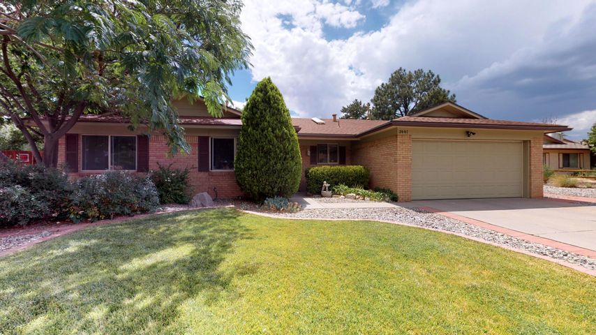 Beautiful Holiday Park home on Cul-De-Sac with many updates. Floor plan has been modified to open up and be inviting. Beautiful kitchen with roll out drawers and plenty of space was renovated in 2018. Hardwood maple and hickory floors in living areas redone over the last few years. Carpet in living room and hallway was just done in 2019. Roof redone in 2016. Yard in this home is absolutely breathtaking. Perfect for relaxing or entertaining. This home is truly a sight to see, don't pass this one up! Easy to show!