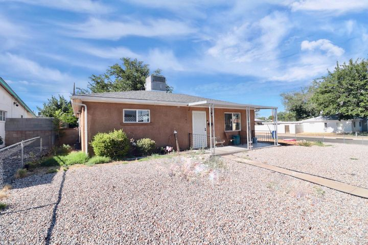 Wonderful CORNER LOT property has great upgrades : laminate /wood flooring (no carpet in this home), kitchen has custom maple cabinets and more! Not many three bedroom / two bath homes to choose from in this area. This home will not last