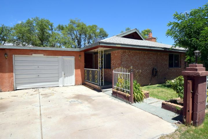 What a great deal!! The 1529 sq. ft. doesn't even include the 293 sq. ft. of heated space that needs drywall. New heater, newer roof, remodeled main bath, new flooring in kitchen, located on dead end street.  This home is being sold as is.