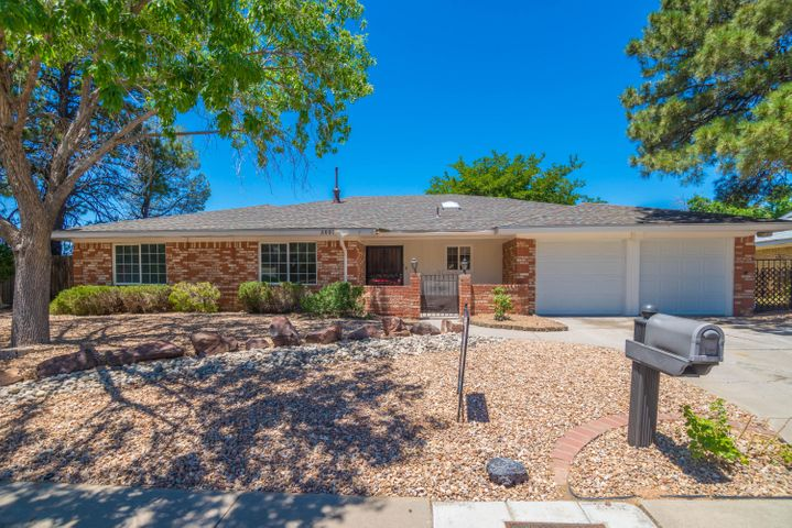MUST SEE FOUR, possible FIVE, bedroom in El Dorado school district. FABULOUS remodel.  Spacious rooms!  NEW: Refrigerated AIR, heater, ROOF with warranty, garage door with remotes, Stainless Steel appliances, kitchen cabinets with granite, under mount sink, plumbing fixtures, lighting, tile, carpet, paint, doors and door hardware. TWO living rooms and heated sun room!  Super close to walking trails and shopping.