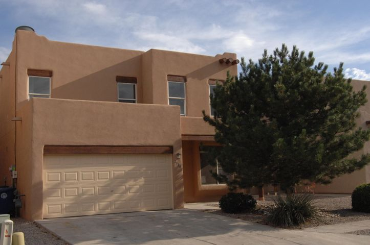 This updated, move-in ready, home is conveniently located near I-40 and just North of Old Town.  Updates include:  SS kitchen appliances, new granite counter tops, and new faucet and garbage disposal; new carpet, LVT and some ceramic tile; new interior paint throughout; newly finished garage with new opener; new roof with transferable warranty; new hot water heater; new oak railing to upstairs; new concrete patio; and new entry and garage mandoor locksets.  Four large bedrooms and a loft which could be workout area, office, game room or 5th bedroom.All of this for under $100 per square foot.