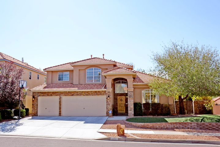Come and see the pride of ownership in this exquisite home located in the desirable Antelope Run area. This home boasts many upgrades inside and out.The kitchen has been upgraded, fresh paint, new flooring, updated windows and blinds, brand new toilet and tub in the secondary bathroom, new water heater and newer cooling units! The floor plan is very inviting with its two living areas, vaulted ceilings, open kitchen and guest room down stairs. Large master suite, secondary rooms and loft truly expand possibilities in this home. Custom stack stone sets this home apart from the neighborhood. Backyard boasts an outdoor kitchen with refrigerator, gazebo enclosed hot tub, open and covered patios, peaceful waterfall and pond with a natural grass area. Schedule an appointment today!