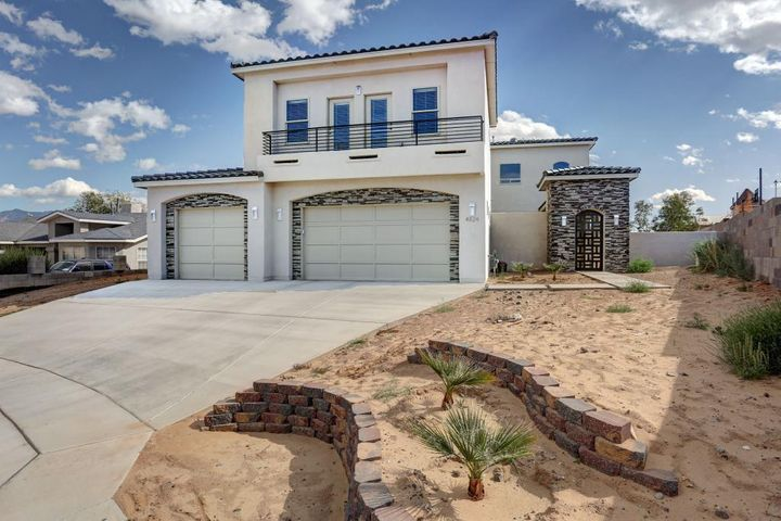 NEW Modern Custom Home located in a quiet neighborhood on a cul-de-sac within an excellent school district. Close to shopping, restaurants, and other amenities. Definitely a must see!!