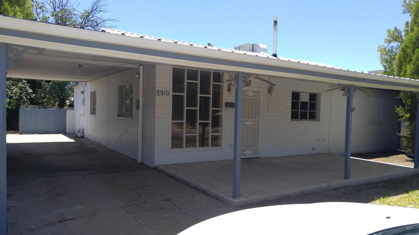 Ranch style with updated kitchen and               2 Bedroom /1.1 Bath nice lot , room to grow.Good Size back yard --great for gardenJust a short walk from Hoffman ParkTin Roof, Covered back porchHUD Homes are  sold '' As Is''