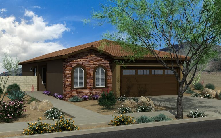 This fully custom, popular, cozy and comfortable 1405 Animas floor-plan spec / move-in-ready home will start construction soon & be completed by the end of the year. Spacious bedrooms, lot of natural light, an open versatile layout and fashion forward materials make this energy-efficient home a smart buy affordably priced under $235,000! Critically acclaimed by Retiree Magazine - Jubilee is Valencia County's most popular 55+ Active adult neighborhood. Voted one of the top 50 best master-planned communities in the United States! Come see   why so many residents love living here in this beautiful gated community, contact us today! Amenities include a Luxurious 11,000 sq. ft. Villa Club House - Play / Relax / Workout / Class Activities / Socialize.