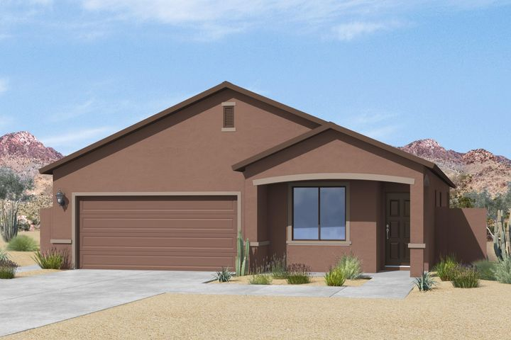 The Prescott, by LGI Homes, is located within the picturesque community of Entrada at High Range. This beautiful, new one story home features an open floor plan, 3 bedrooms and 2 full baths. This new home comes with over $10,000 in upgrades including energy efficient kitchen appliances, granite countertops, custom wood cabinets, brushed nickel hardware and a two car garage. The Prescott showcases a master suite complete with a walk-in closet, as well as a separate den, fully fenced backyard, covered patio and front yard landscaping.