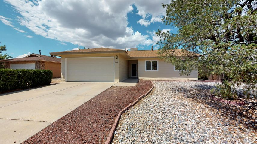 This beautiful single story home in the La Cueva school district won't last long! This home sits on a large lot with an incredible view of the mountains! Home features 3 bedrooms, 2 bath, 2 living areas with tons of updates to include new carpet (July 2019), newer roof (2017), newer synthetic stucco (2017), newer master cool (3 years), newer water heater (1 year), kitchen remodel along with newer appliances (2014), newer windows and doors (2008-2014). This home shows pride of ownership! Walking distance to schools and restaurants. Easy access to shopping, freeway and hiking trails. Don't let this one pass you by!