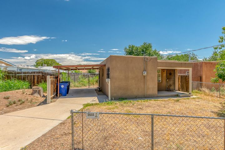 This charming home, located in the North Valley has a cozy living room, with hardwood floors, lots of natural lot, great backyard for entertaining and covered patio. This could make a nice investment property as well. Fridge and washer will convey as is.