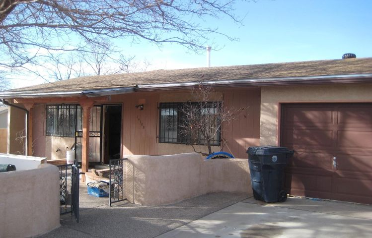Great location for this Unique home located in the NE Heights ! Home features 1,495 sqft. with 4 bedrooms, 2 bathrooms. Home could use some TLC!!***Selling as is where is. **No warranties or guarantees expressed or implied! ***