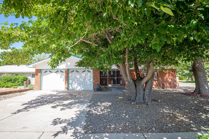 This beautifully updated home is as gorgeous as it is spacious! From the updated flooring throughout to the gorgeous new cabinets, S/S appliances and granite counters in the kitchen, you won't know what hit you! 2 living areas, an eat-in kitchen and 4 spacious bedrooms with oversized closets will leave you with extra room to grow.  Sit on the back porch and enjoy the shade of the private covered patio.  The backyard is freshly cleaned and ready for your landscaping dreams.  Corner lot with backyard access and room for an RV. Come see your dream home, we know you won't want to leave! Conveniently located to schools, parks and shopping.  Close proximity to I-40 access, too!