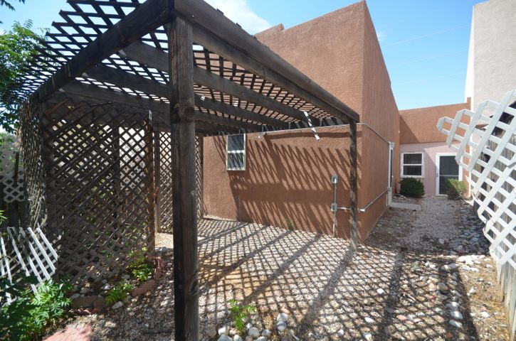 Super Sweet Patio Home! This 2 bedroom 1 3/4 bath home features open floorplan. Home has been modified and features wheelchair access through out. Tons of light floods in through skylights and all the windows. Kitchen has small breakfast bar.  Greatroom & dining area are open flowing into kitchen. Updated bath featuring walk in bathtub & tile surround. Both bedrooms are good sized. Ceiling fans in most rooms. Master includes 3/4 bath with large walk in closet. Double car garage. Covered patio. The property is as cute as can be! Centrally located with easy access to shopping and dining!