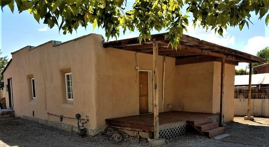 AFFORDABLE! Great House for those Commuting from Santa Fe or Albuquerque-- Miss the 550 Construction for the next year -- Take Railrunner to either City This House is in Great Shape!Large Lot!. All Appliances Stay, including Washer and Dryer. Flexible floor plan. Level Lot with trees. House is situated so you can have ample parking, playground, dog run. 3 Bedrooms Possible! Good RENTAL HISTORY. Very  close to the North Business Corridor. Come see this cute little house today - you wont be disappointed.