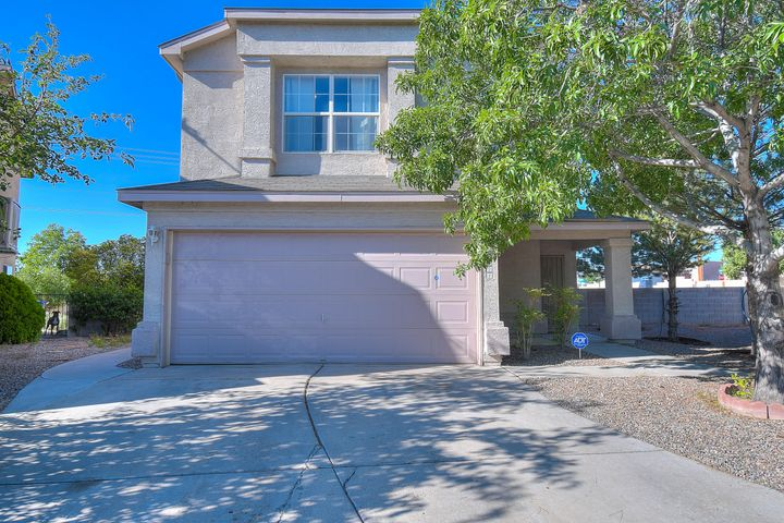 Great REMODELED homel! New Paint, New carpet, New Stainless Steel Appliances, New Granite Counters tops. Large lot, Gated Community with a nice park across the street. Refrigerated air. 3 bedroom plus a loft. Move in Ready!