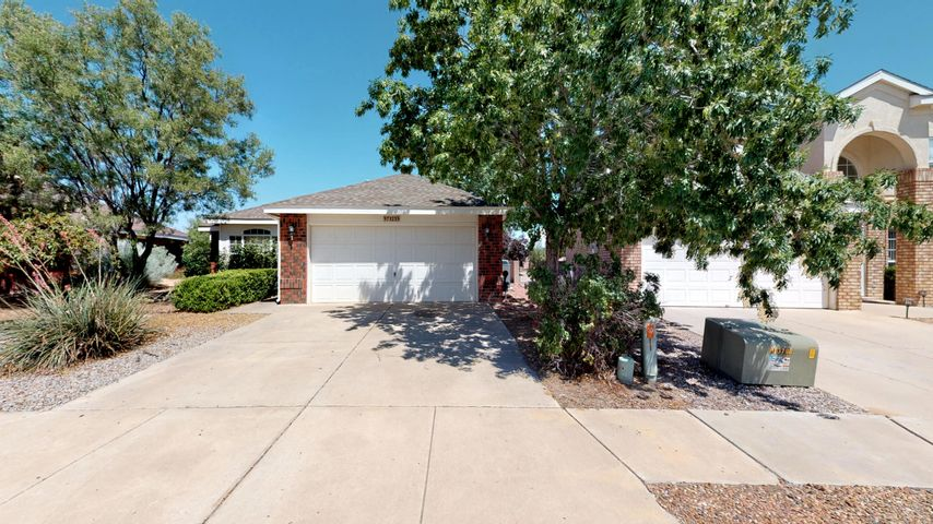 Welcome to this lovely brick home with vaulted ceilings, refrigerated air, low-maintenance landscaping, covered patio, and laminate flooring throughout. There is an additional bonus room that can be an office, game room or den. Great location and move in ready! Come see today!