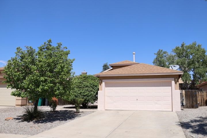 Sparkling Enchanted Hills 2/3BR home.  Front BR has no closet; it could make a nice office or exercise area also.  Easy access to Hiway 550 and I-25.  Open floor plan features vaulted ceiling & 2 living areas.  Cozy fireplace, great for this winter. Immaculate and ready for new owner!