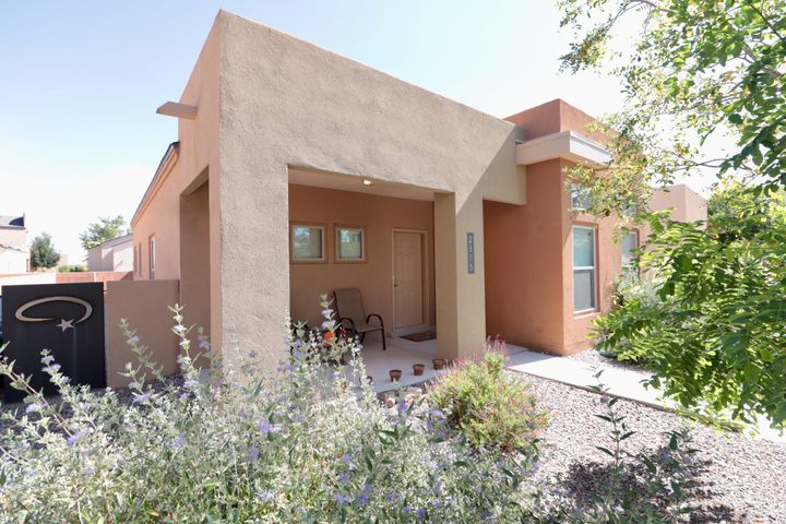 This home has barely been lived in!  Seller stayed here just a few times a year.  Beautifully maintained this home looks and feels brand new!  This unit has the upgraded cabinets, stainless steel appliance package and tile in the bathrooms.  Minutes from Abq studios, isleta pavilion, very close access to I-25.