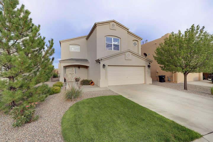 ***OPEN HOUSE Sunday, August 25, 2019 1PM-3PM, if still available.*** You'll be electrified with excitement the moment you arrive. This one is absolutely gorgeous!!! Special features include: pitched/shingle roof, synthetic stucco, cozy refrigerated air for hot summer days, beautiful and durable new laminate flooring downstairs (no carpet down!), fresh/neutral 2-tone paint, new lighting, relaxing and low-maintenance gas burning fireplace in built-in mantle / space-saving entertainment center, freshly-updated kitchen with expensive new stainless appliances / tile backsplash / solid quartz countertops, master with dual sinks / water closet / soaking garden tub, spacious 2nd master with full bath, and outstanding outdoor living in a fully-landscaped yard with shed & fruit trees. A wow house!