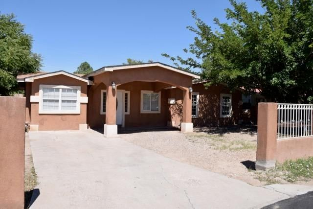 This home Features 3 Bedrooms 2 3/4 Baths, Open floor plan.  Ceramic Tile , walled front yard and shed in backyard.