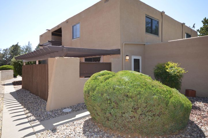 This lovely, well maintained condo has a bright open floor plan with a spacious greatroom and dining room with access to private patio. Kitchen has updated cabinets and includes smooth top electric stove and microwave. Upstairs has two bedrooms including large master. Unit has new water heater in 2018, recent furnace and new carpet throughout. Complex has landscaped walking paths and community pool. Conveniently located to shopping and dining.