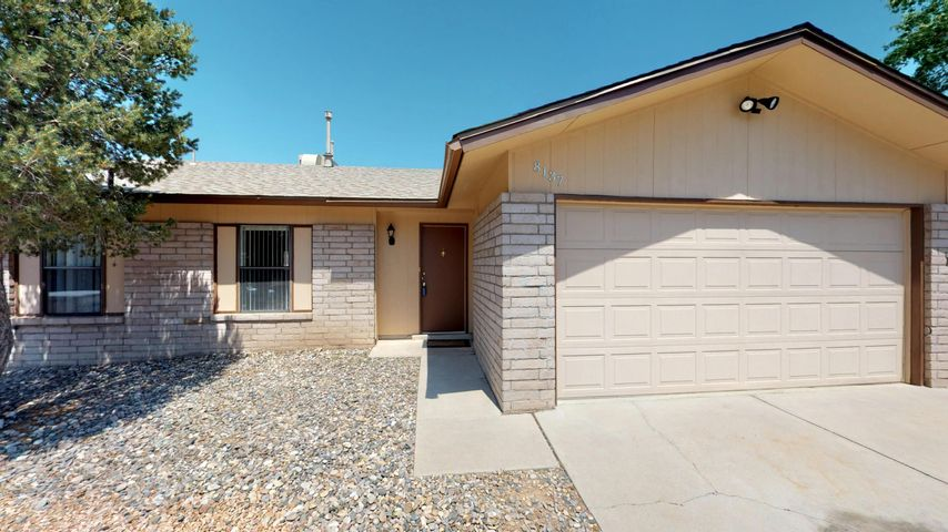 Great location, single story home with new roof, carpet, dishwasher and fresh paint.  This lovely 3-bedroom, two bath home also has a large backyard with covered patio and so many possibilities.