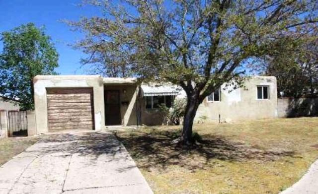 Quaint single story Pueblo style home in need of repair on a large lot. Property features 3 bedrooms, 1.5 baths, and a cozycorner kitchen that opens to a good sized living room. Property has potential.