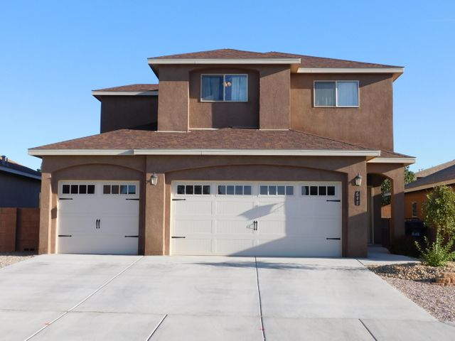 LOCATION, LOCATION, LOCATION! Impeccably maintained NEWER home situated in a wonderful, well-established community that is close to schools, shopping, walking trails and I-25. Excellent open floor plan that includes: a kitchen equipped w/custom cabinetry, granite counters, center island and designer back splash, REFRIGERATED AIR, sprawling master living area w/elegant GAS LOG fireplace, large master bedroom w/master bath that includes jetted tub, granite counters and ceramic tile surround, custom paint, upgraded fans and light fixtures, 2 x 6 construction w/a post tension slab, wonderfully landscaped front and rear yards with side yard access and block wall fencing and more. Bring your pickiest buyers. They will not be disappointed. AN ABSOLUTE MUST SEE...