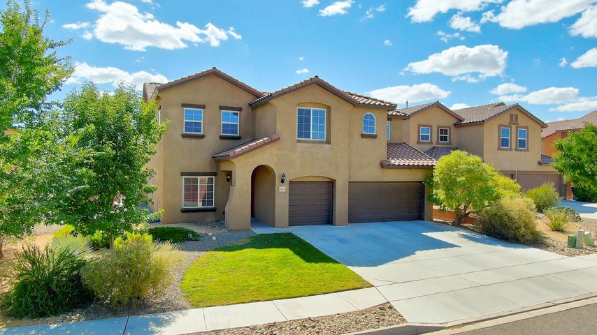 Bring your family into your new dream home! Centrally located in the sought after Loma Colorado community this home is within walking distance to many parks including a dog park, miles of walking trails, the nearby Aquatic Center and Library! This home features one of the largest floorplans Pulte has to offer with space for everyone. It features 5 spacious bedrooms with 2 master suites perfect for in-laws or guests! From the entry, you will be invited into the large open floor plan where the new tile wood plank floors will guide you from room to room. The downstairs boasts 3 oversized living areas: formal dining and living room. Walkthrough the rotunda foyer to the open kitchen space perfect for entertaining with the kitchen island and huge walk-in pantry...