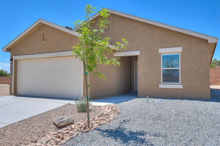 Blinds, Gas Range, Granite Kitchen Countertops, and Large Deco Tile Floors  are included with this New Never Lived in Home. Visit this beautiful gated community close to shopping, I-40, Restaurants, and Entertainment. Your dream home even has a Tiled Shower in your master Bathroom.