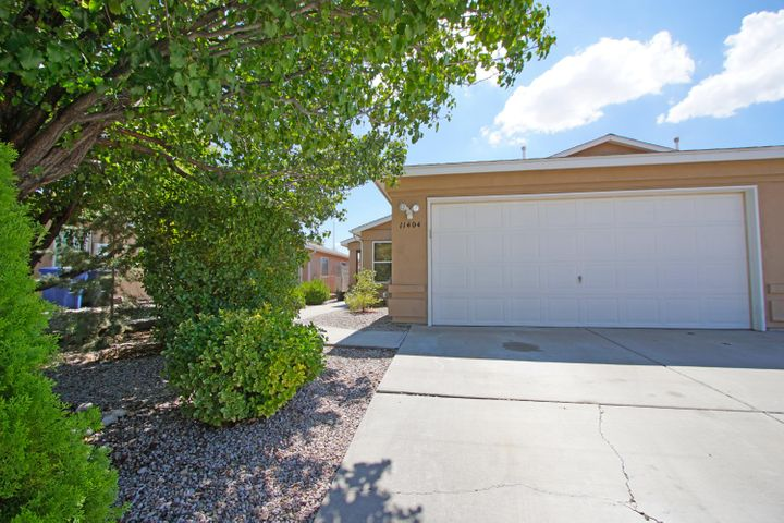 Superb home near Kirtland AF Base and Sandia National Labs.  Spacious floor plan with new carpet, fresh paint, new dishwasher, new stove, newer water heater (2017), large master bedroom walk-in closet, 2 full baths and REFRIGERATED AIR!  Own one of the larger homes in the subdivision at 1,451sqft. Must See!!