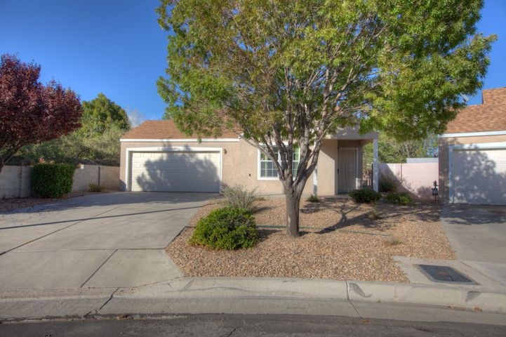 Great starter home with newer carpet and paint. open floor plan light and bright. Ready for intimidate occupancy.  Enjoy this single story 3 bedroom 1.75 bath 2 car garage home. Close to Cibola High.