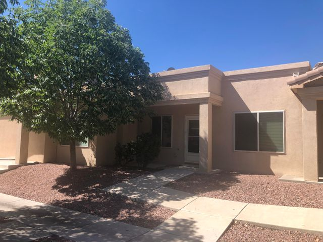 This cute and cozy two bedroom one bath is well maintained and waiting for you. This charming condo has new paint,  newer roof, and all new appliances.  What are you waiting for? Schedule your showing today!HOA covers exterior and water. Studs in is the owners responsibility.