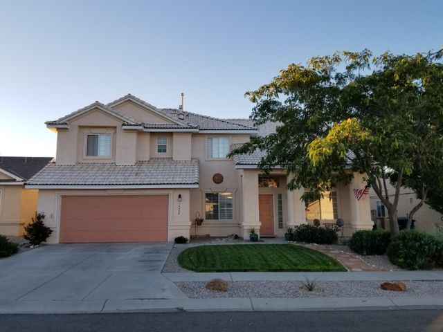 Stunning home in the Tuscany subdivision!  This home is a must see....from the spacious open floor plan to the tranquil backyard you will have more than enough room.  This home has been totally upgraded from, Whirlpool Gold series appliances installed in 2017, remodeled master bath shower 2019, 2 new evaporated coolers 2019 (still under warranty), new carpet installed in 2017, new window blinds 2019, Upgraded faucets in the master,2nd bathroom and kitchen 2019, paved patio in the backyard 2017, fully landscaped front and backyard with complete irrigation system AND a fully finished garage with shelving!  Don't miss out, schedule a showing today!!