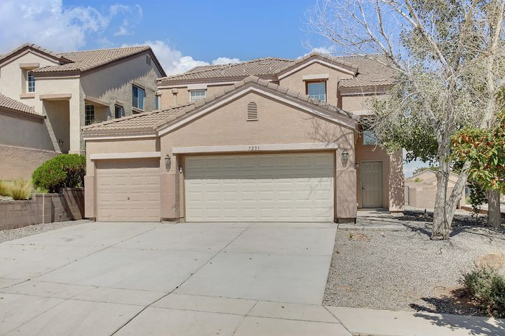 OPEN HOUSE SATURDAY SEPTEMBER 28 FROM 12:00-2:00 PM!!! Welcome the highly sought after subdivision of Santa Fe at The Trails. This young Longford Built home has a ton to offer. Sitting on a great corner lot, with a large 3 car garage, and Refrigerated Air to keep cool. The downstairs has a very open floor plan plus, a bedroom, and 3/4 bath. The Master Suite is sure to wow you with the French doors, Huge Master Closet, and Stunning Views from the Balcony. Don't let this opportunity to own a great home in such a desirable location slip away!