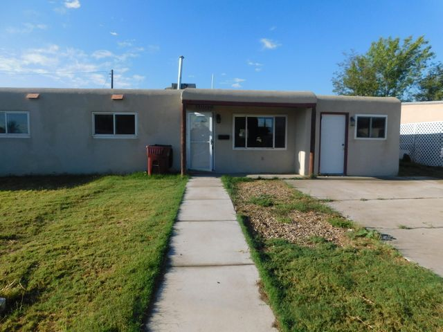 Home is  in downtown Belen.  Walled rear yard. Easy Access to I-25, near elementary school. Needs some attention.  Any owner occupant obtaining an FHA loan may be eligible for $100.00 down payment. Selling AS IS