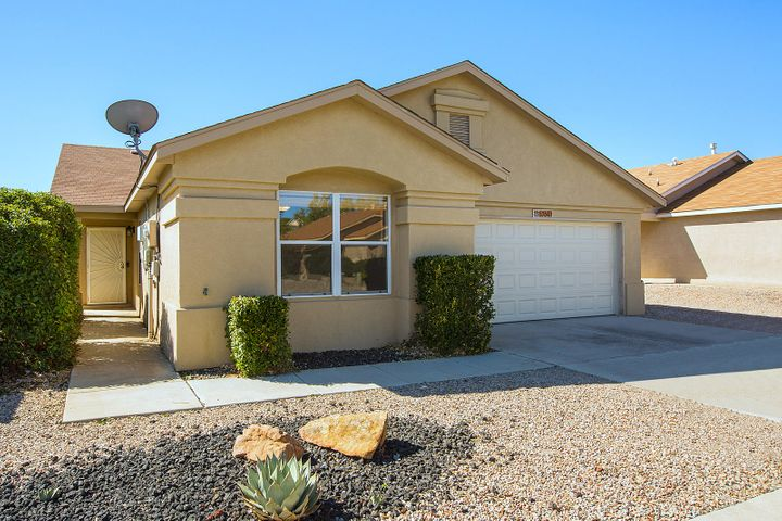 Move in Ready single story home with Solar Panels that are owned and paid off! Your electric bill be under $10 per month! True back yard access with a 10 ft gate. Backs to Open Space so you won't have a back yard neighbor! 3 generous bedrooms, 2 full baths, 2 car garage, Ring door bell, Nest smart thermostat, Master Cool are conditioner. Ceiling Fans, new carpet in bedrooms, Covered back patio, Extra large lot. Quiet street. You can have it all at an affordable price! ***New Water Heater October 2019***