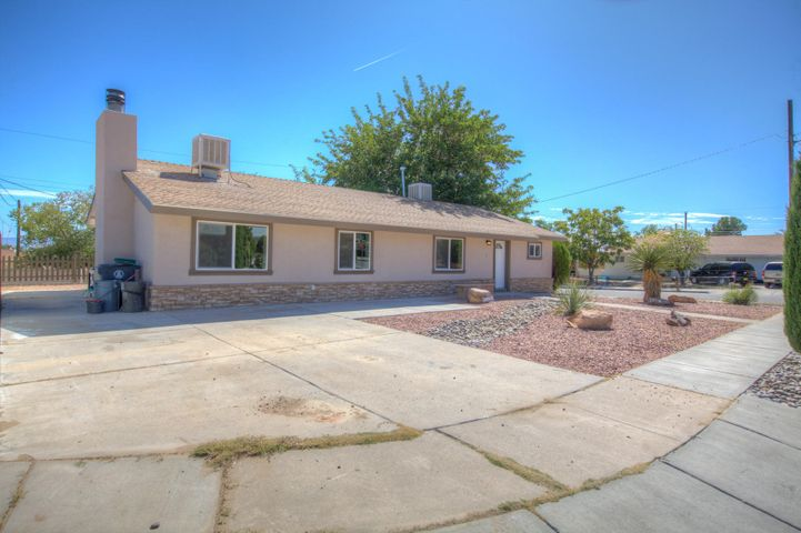 This beautiful remodel is ready for it's new owner. Complete with new paint, new floors, new carpet, new cabinets in the restrooms. Spacious living spaces and large bedrooms, and a walk-in closet. Come see this beauty today.
