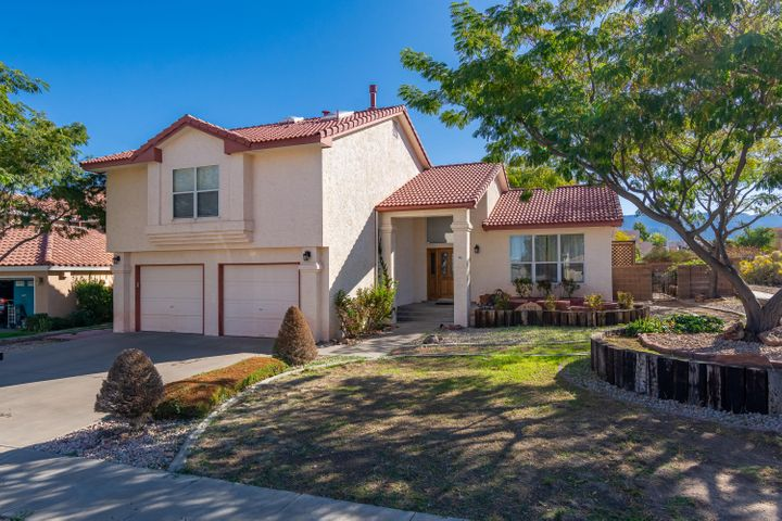 Beautiful Mock home located on a corner lot in the desirable Nor Este Estates community. Home features 2,336sf with 3 bedrooms, 3 bathrooms and 2 living areas. Spaciously designed kitchen with upgraded cabinetry, granite countertops, upgraded stainless steel appliances, backsplash, built-in work/desk area, high top bar with seating space and a breakfast nook. Great living space with raised ceilings, built-in bookcases, wood flooring and a gas fireplace! 1st floor guest room and bath! Upstairs find the large master suite with his/hers closets and a private bath. Bath hosts dual sinks with marble surround, a relaxing soaker tub, walk-in shower and an additional walk-in closet! Backyard is fully walled and landscaped with walk ways, grass, and planter boxes