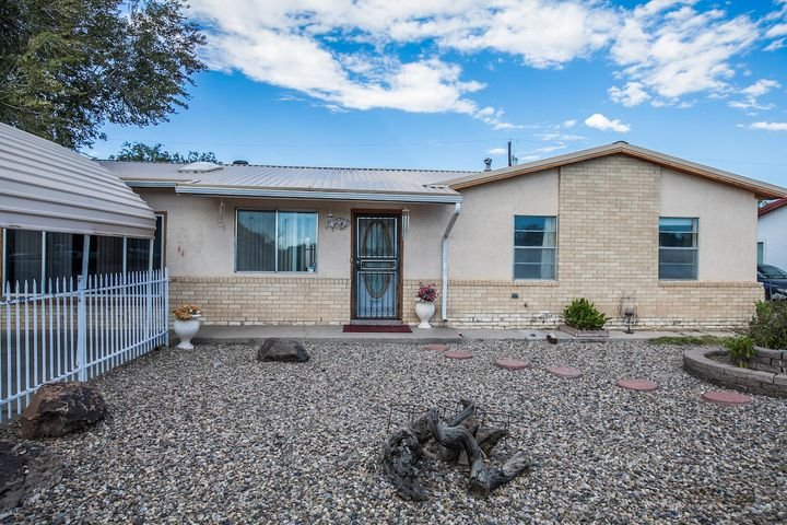 This could be a great investment opportunity or rental for an investor! Home is being sold AS-IS. No repairs will be made. The main house is 1,564 SQFT and the guest house/casita is 479 SQFT for a total of 2044 SQFT. The main house has an open floor plan, laundry room, pantry, 2 bedrooms, 2 baths, and linen closet. Both houses have new metal roofs (2018). Guest house has a small kitchen, living area, bedroom, and full bath. There is a large backyard and plenty of storage sheds!