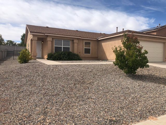 Incredible three bedroom home located on cul-de-sac in Enchanted Hills.  Home shows like new!  New carpet (just installed), fresh paint, new sink and tub fixtures, and more!  Refrigerated air.  Huge back yard.  This is a must see!