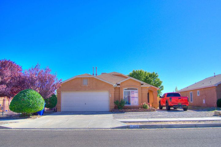 Perfect starter home!  Nice open floor plan with many upgrades.  No carpet, tile throughout, xeriscape front and back yard, new block wall, french doors, solar panels if new buyers want to take over contract or will remove.