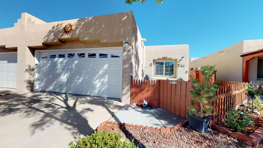 Wonderful 3 Bedroom Refurbished Townhome In Sought After Rinconada Point.  All New Flooring Throughout, Upgraded Bathrooms, New Paint, New Fencing Front And Back, All New Windows and Doors Including Garage Door, New Mastercool Swamp Cooler, New Kitchen Cabinets, New Outside Lighting.  Don't Miss Out On This!!