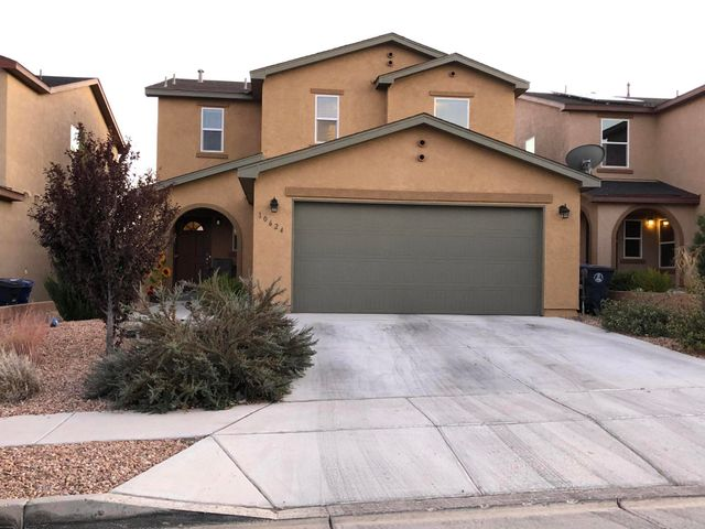 Fairly new 2 story home is not only beautiful it is a bargain.  Priced to sell.  The appliances in kitchen will stay.  Upgrades include counter tops, raised vanities, tank less water heater and refrigerated air.  As an bonus this gated subdivision has it's own pool and park.