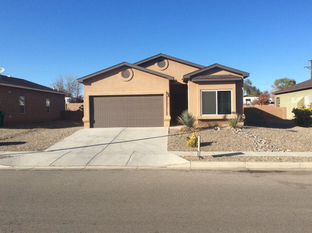 This home is ready to move into today!!! Very modern, contemporary colors and style throughout. NEW:  Paint, Carpet & Pad, Stainless Appliance Package.  Compare this to all new construction and be amazed...Move into your new home today!